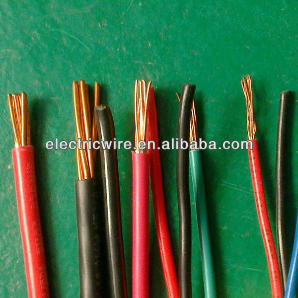 0.5sqmm~300sqmm PVC Insulated Building Electric Cable
