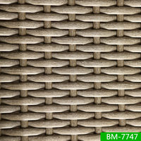 Outdoor Using Scratched Texture Patio Furniture Synthetic Wicker