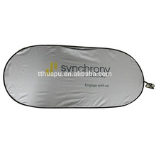 Unique Design Printing Logo Rear Advertising Car Sun Shade