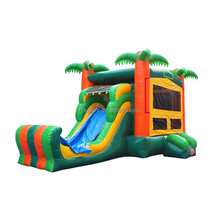 Original Factory 2018 new inflatable combo high quality adventure combo inflatable bouncy castle 9160