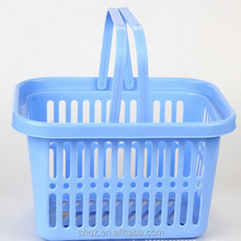 Wholesale flexible garden plastic basket with handle