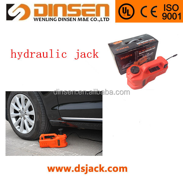 tools car jack set DC12v hydraulic jack 3000kgs zhejiang factory
