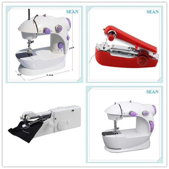 Hot selling hand Portable manual Mini Electric Sewing Machine