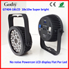 rgbwauv 6in1 outdoor par led 18x10w Slim Par Best Quality