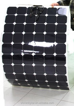 Shine sunpower flexible solar panel 12v 200w prices produce at factory directly