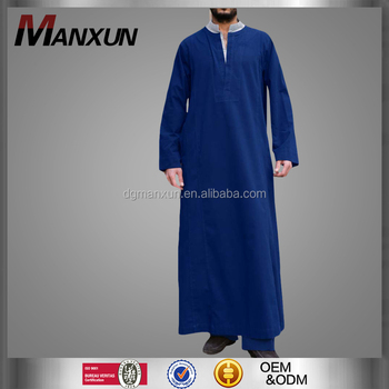 New design men thobe islamic thobe dubai men abaya