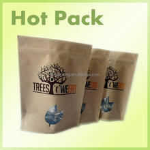 bargain price recycling craft paper small bags / roast chicken paper bag