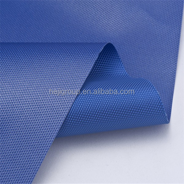 Polyester oxford fabric school bag making material with PA/PU/ULY/PVC coating and waterproof