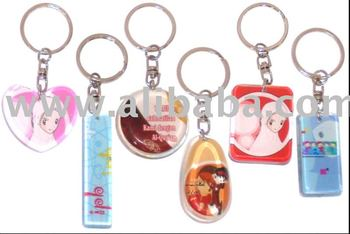 Glass Key Chains