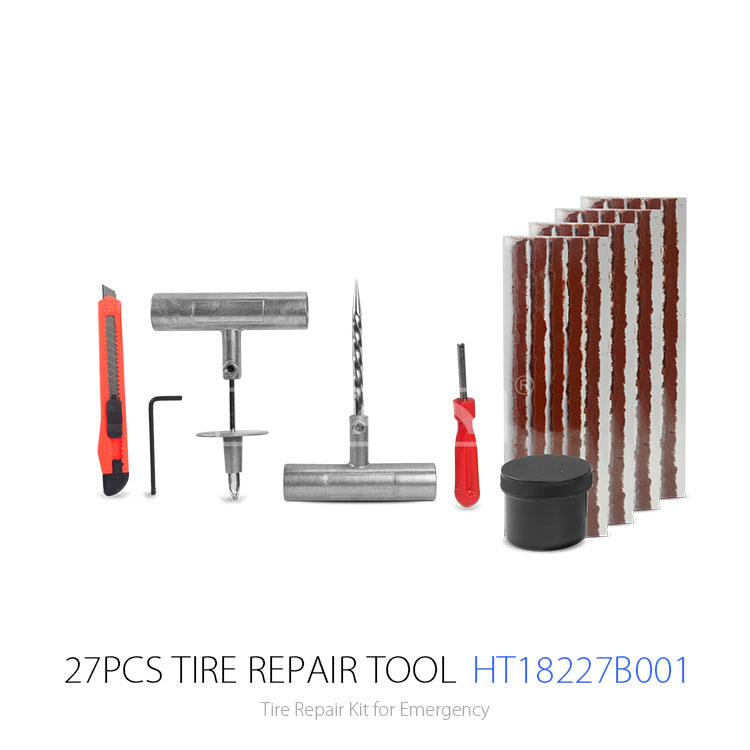 Tubeless Tire Repair Kit Tire Puncture Repair Kit Used for Auto,Motorcycle,Bycle