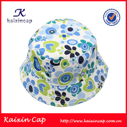 Alibaba best sale cute colorful emoji free pattern children bucket hat
