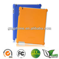 hard back rubber case for ipad 2 3