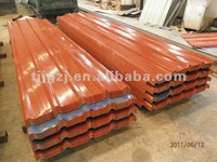 colour coated trapezoidal roofing steel