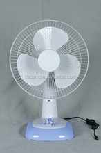 hot sale 12 inch dc slolar fan table top fans