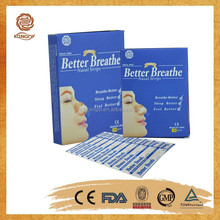 effective products relieving nasal allergy and rhinitis nasal strip made of Chinese herbs