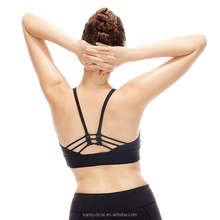 Women Bra Running Vest Solid Tops Yoga Cross Back Sale Sports Bras