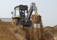 Small backhoe for sale, Hight quality CUMMIN S engine backhoe loader tractor price