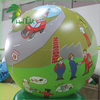 2016 Big Green Inflatable Balloon With Custom Printing for Advertising Promotion