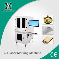 New model for moulds medical equipments 3D laser engraving machine price