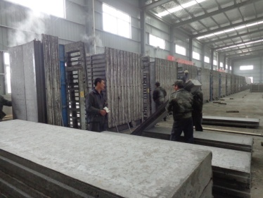 Unloading (Light Weight Energy-Saving Wall Panel, Vanjoin Eco-Friendly Integrated House System)