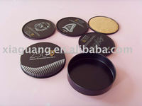 TC003 Promotional Souvenir Tin coaster with cork bottom