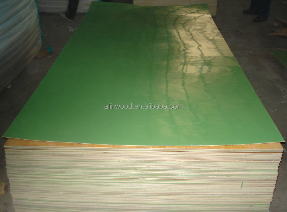 Solid color polyester laminated plywood/polyester plywood/polyester coated plywood