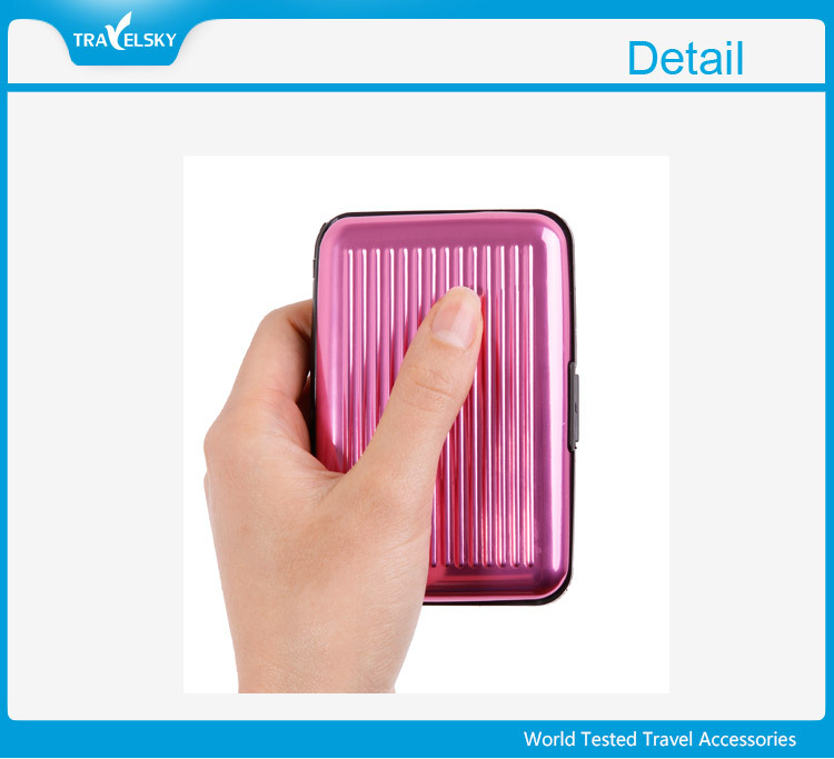 High Quality Useful Aluminum Credit Card Holder Wallet