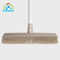 PP TPR material telescopic handle floor cleaning squeegee brush