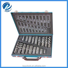 DIN338 Half ground HSS 170pcs Drill bit set