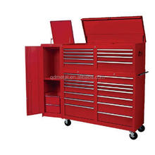 "Us General Tool Box Parts 72"" inch Combination Tool Box / Roller Tool Cabinet With Side Box Made China"