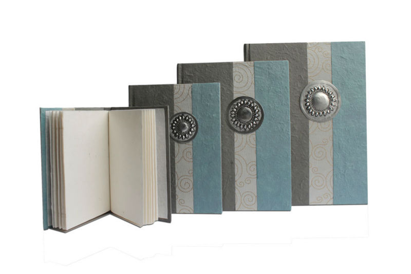 luxury high quality handmade paper note book / adressbook