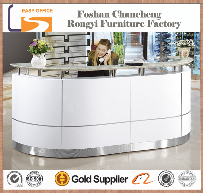 OEM high end competitive price special design commercial furniture office front desks