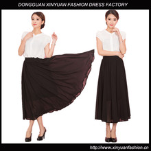 Pictures Of Ladies Long Pleated Chiffon Skirts Long Maxi Skirts For Women