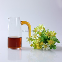 High borosilicate drinking 200ml glass measuring cup