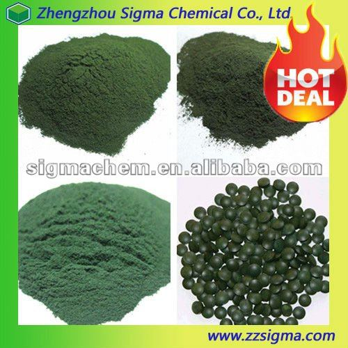 natural spirulina powder and tablets with good quality