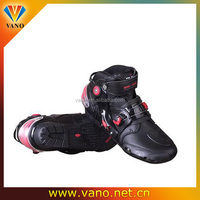 Factory price rubber sole motorcycle racing boots A09001