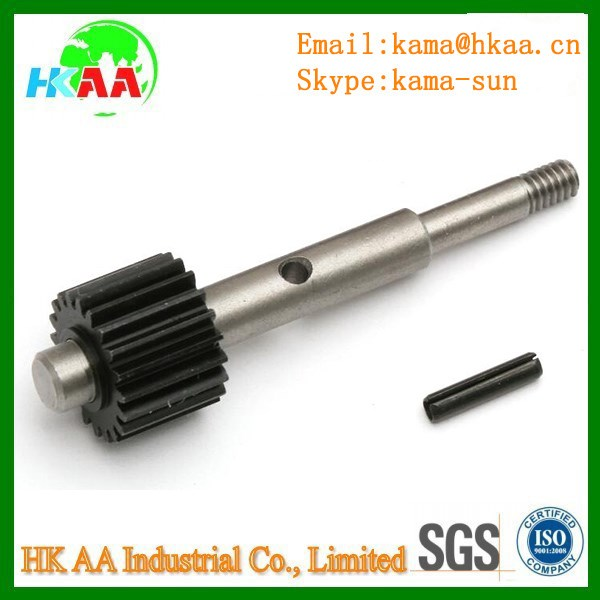 OEM customzied turbo rotor shaft for engine parts