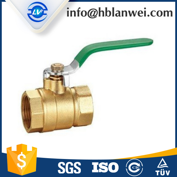 wholesale high quality pneumatic brass ball valve