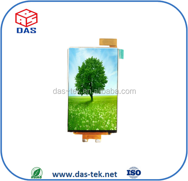 2.8 inch sunlight readable lcd tft 240x400 MCU transflective module