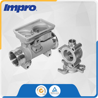 Stainless Steel EGR system Valve Body investment castings for Commercial Vehicle