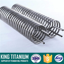 "Seamless CP2 Titanium Pipes and Tubes range NPS 1/8"" - 4"""