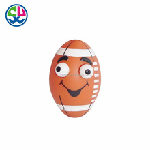 Custom made Funny Sports plastic vinyl toy pop eyes out squeeze toy