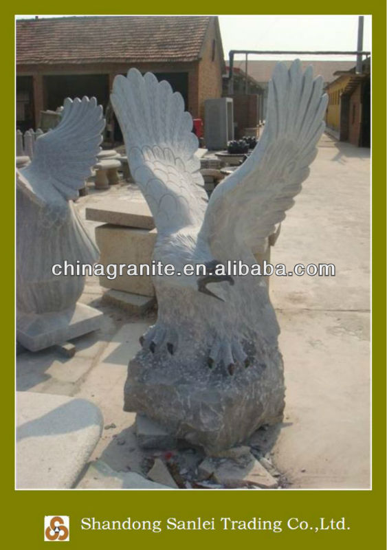 stone eagles carving animal sculptures