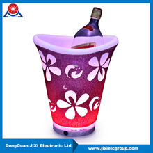 Multi Functional illuminated acrylic led lighted ice bucket wholesale