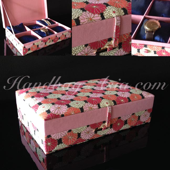 Silk Jewelry Box & Cotton Box