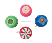 Kids Wooden Classic Colorful Small YOYO Toy