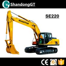 SHANTUI 22ton hydraulic crawler excavator with USA engine