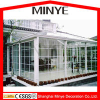 commercial used lowes sunrooms/best seller loew sunrooms with laminated glass /lowes sunrooms