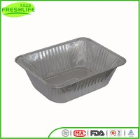 Best selling good quality 100% food grade disposable pollution free aluminum foil container