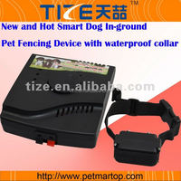 New Smart Dog In-ground Pet Fencing Device with waterproof collar TZ-W227 Dog control training device